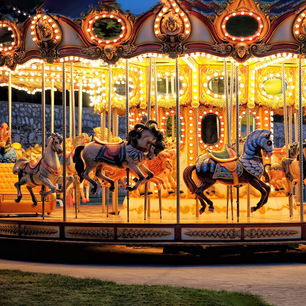What are the common faults of carousel amusement equipment--Hotfun Amusement rides